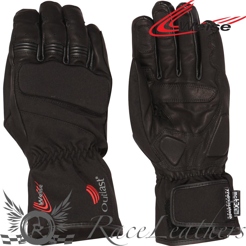Motorcycle gloves outlast - Weise Mens Sirius Windproof Waterproof Breathable Motorcycle Gloves Outlast