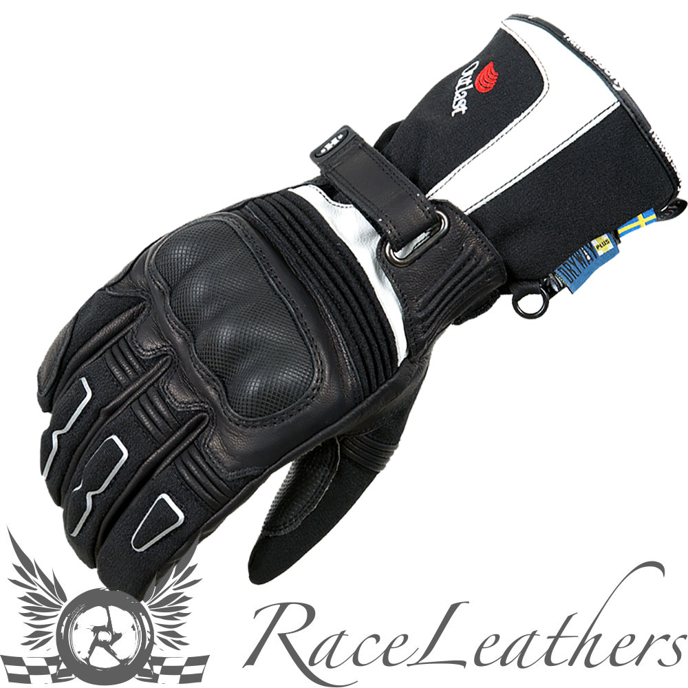 Motorcycle gloves outlast - Halvarssons Advance Ivory Waterproof Thermal Motorcycle Gloves With Outlast