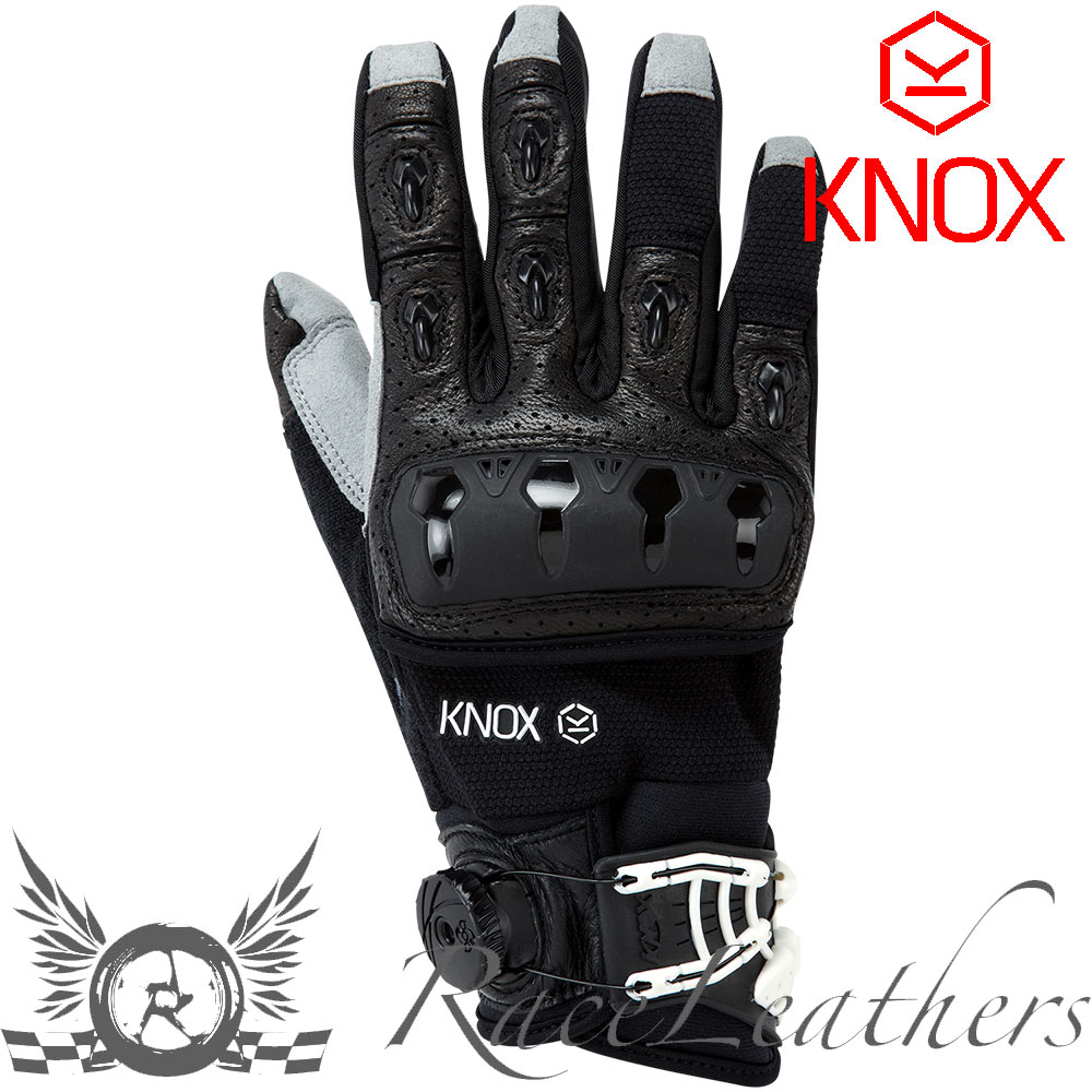 Motorcycle gloves ce approved - Knox Orsa Textile Or3 Black Summer Motorcycle Gloves Ce Approved Hand Armour