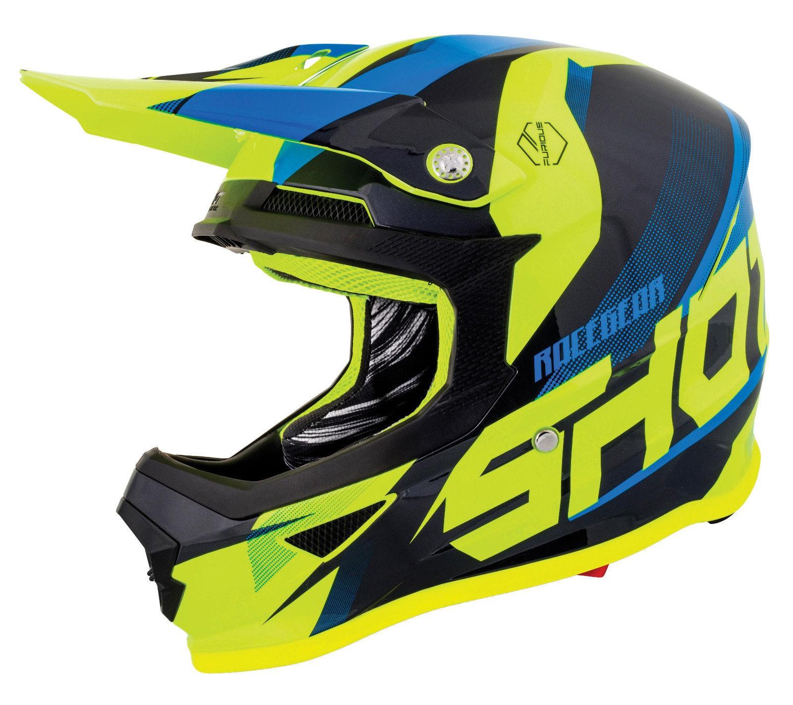 Shot Furious Score MX Motorcycle Helmet Motocross Enduro Quad ATV