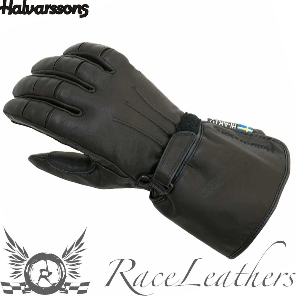 HALVARSSONS ADVANCE IVORY WATERPROOF THERMAL MOTORCYCLE GLOVES WITH OUTLAST