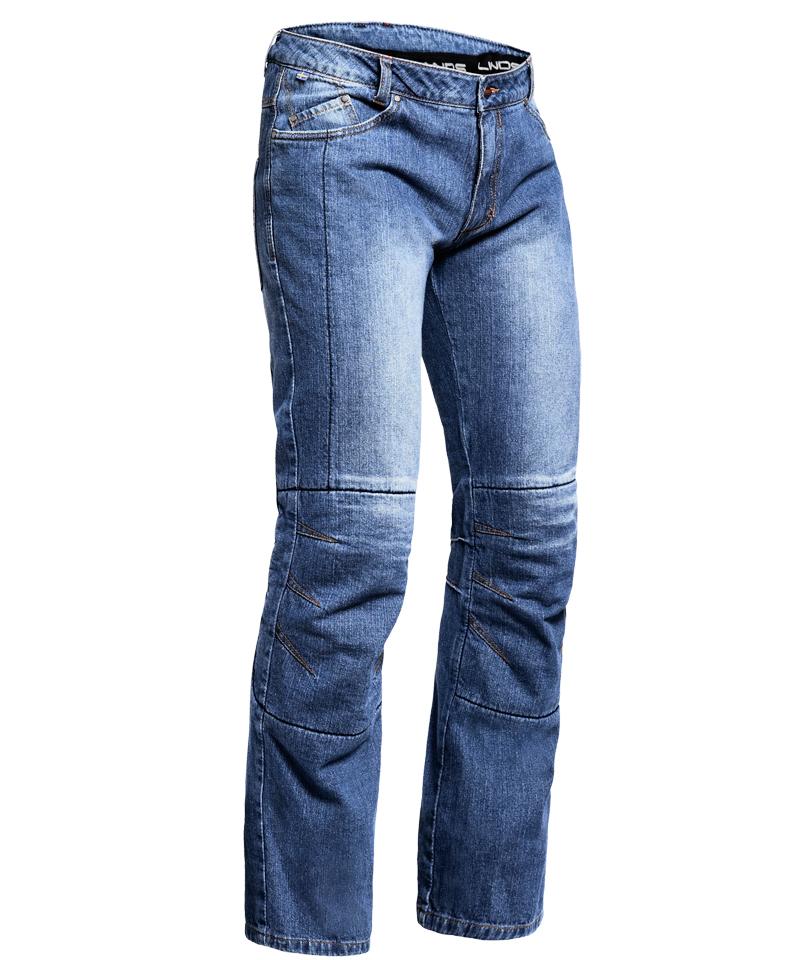 lindstrands bez ge hellblau motorrad denim jeans normale. Black Bedroom Furniture Sets. Home Design Ideas