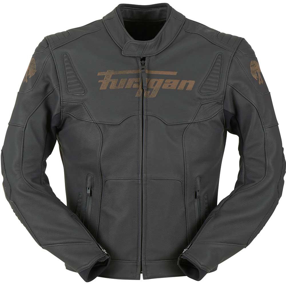 furygan sherman noir sport pour cuir veste de moto. Black Bedroom Furniture Sets. Home Design Ideas