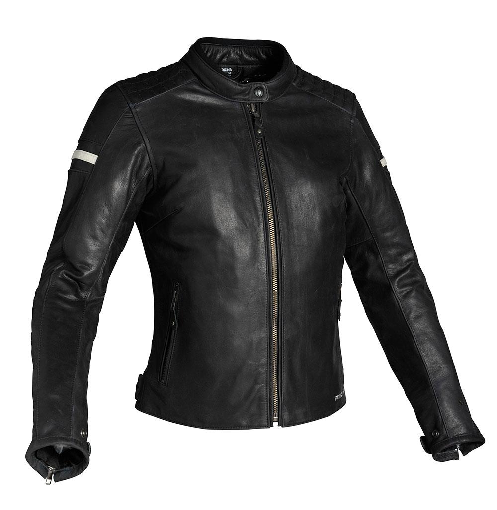 Impact Damen Leder Motorrad Schutz Jacke Damen Motorrad Schutzkleidung Ce