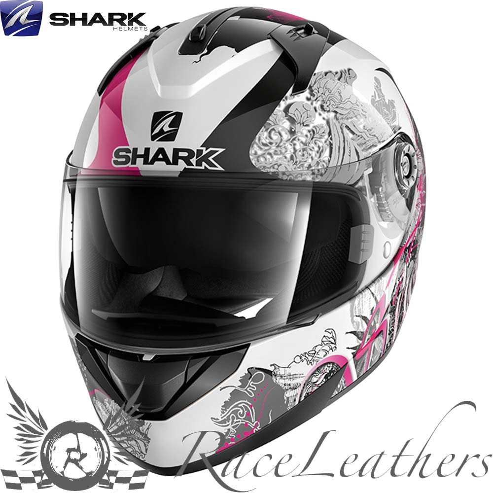 Shark Ridill Riddle Spring Pink Ladies Moto Casque De Scooter Ebay