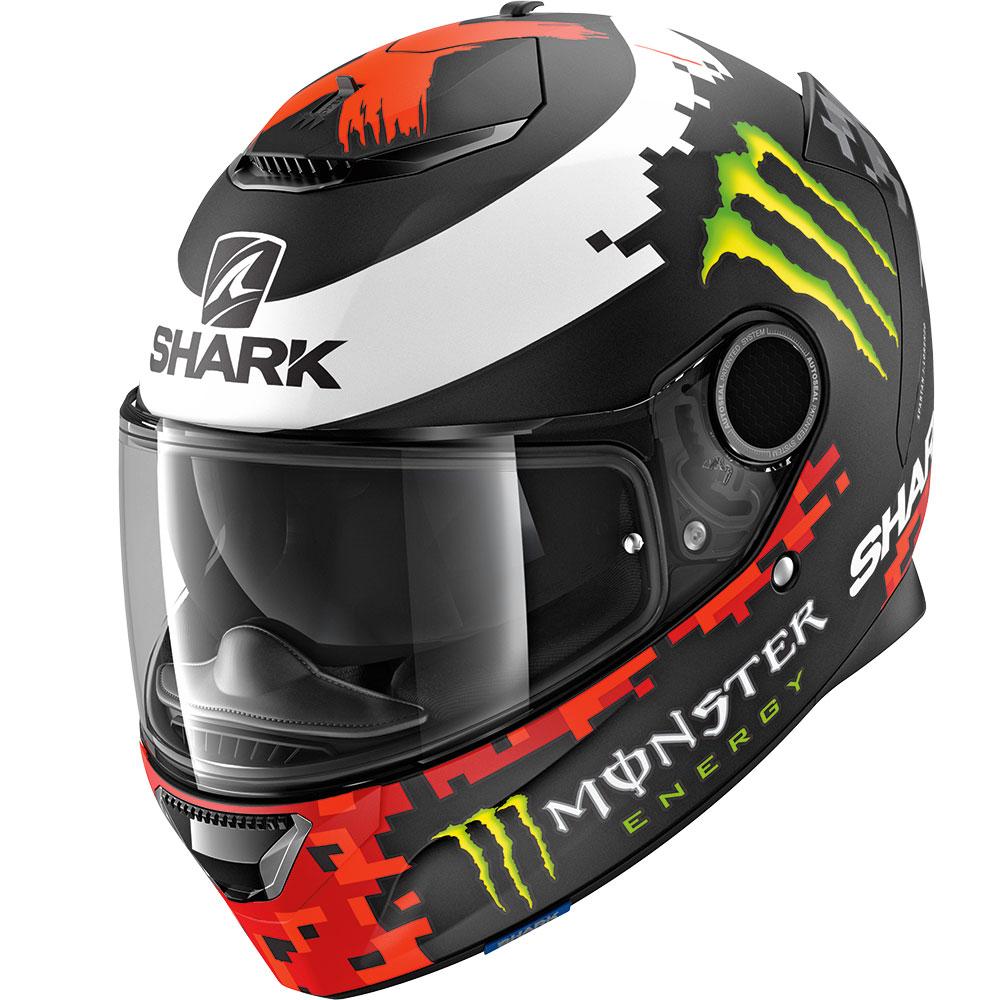 Shark Spartan Lorenzo Mat Monster Moto Sport Touring Casque Ebay