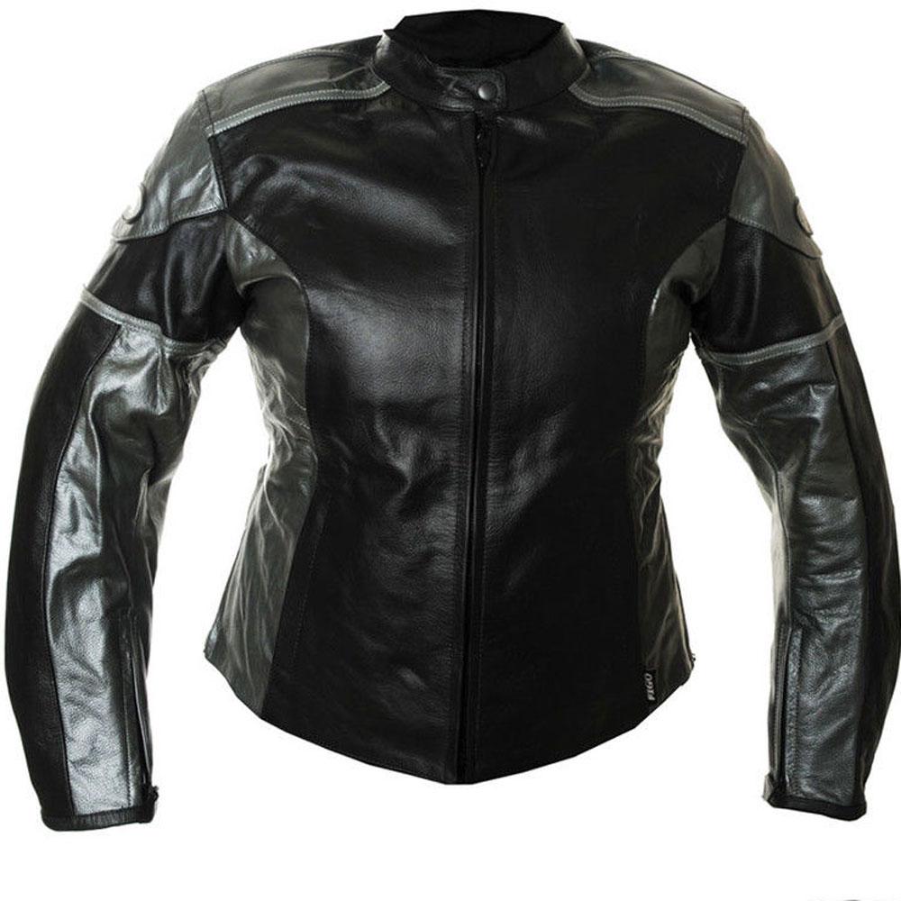 rk sport katrina damen schwarz silber sommer motorrad. Black Bedroom Furniture Sets. Home Design Ideas
