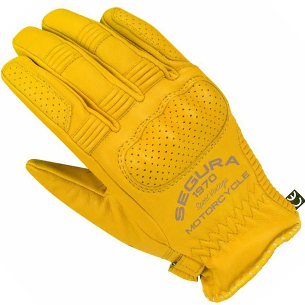 Segura Cassidy CE Waterproof Leather Motorcycle Motorbike Gloves Brown